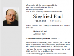 Siegfried Paul 1