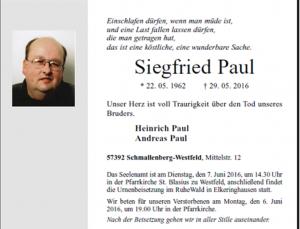 Siegfried Paul 1