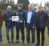 Fair-Play-Preis an Dominik Horst