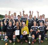 Landesliga-Fussballerinnen des SV Thülen erneut Kreispokalsieger
