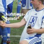 Das erste Entscheidungsspiel entschied der SV Schmallenberg/Frbg. vor 1056 Zuschauern mit 3:2 (1:2) für sich.
