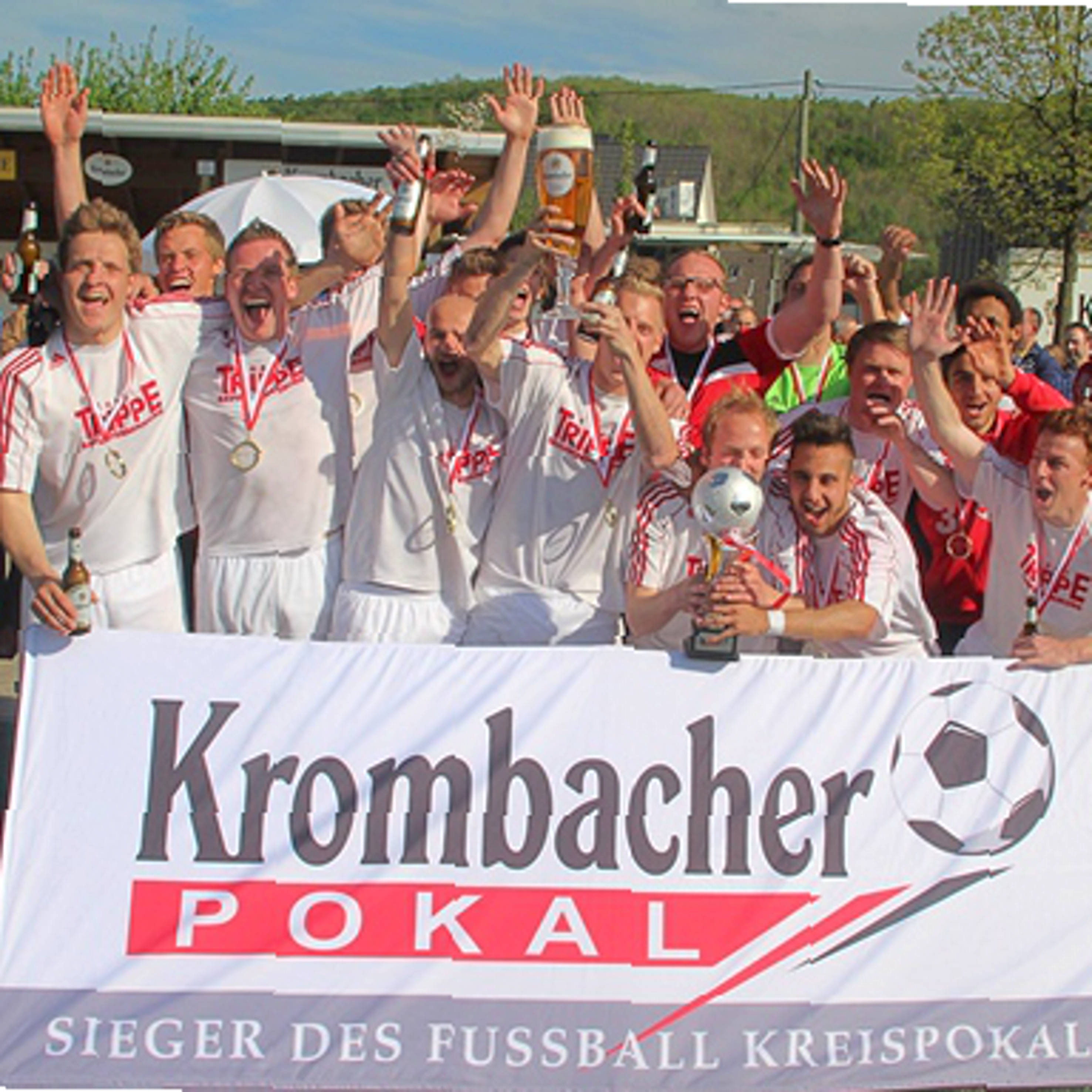 Finaltag des Ü 32 Kleinfeld-Krombacher-Pokals