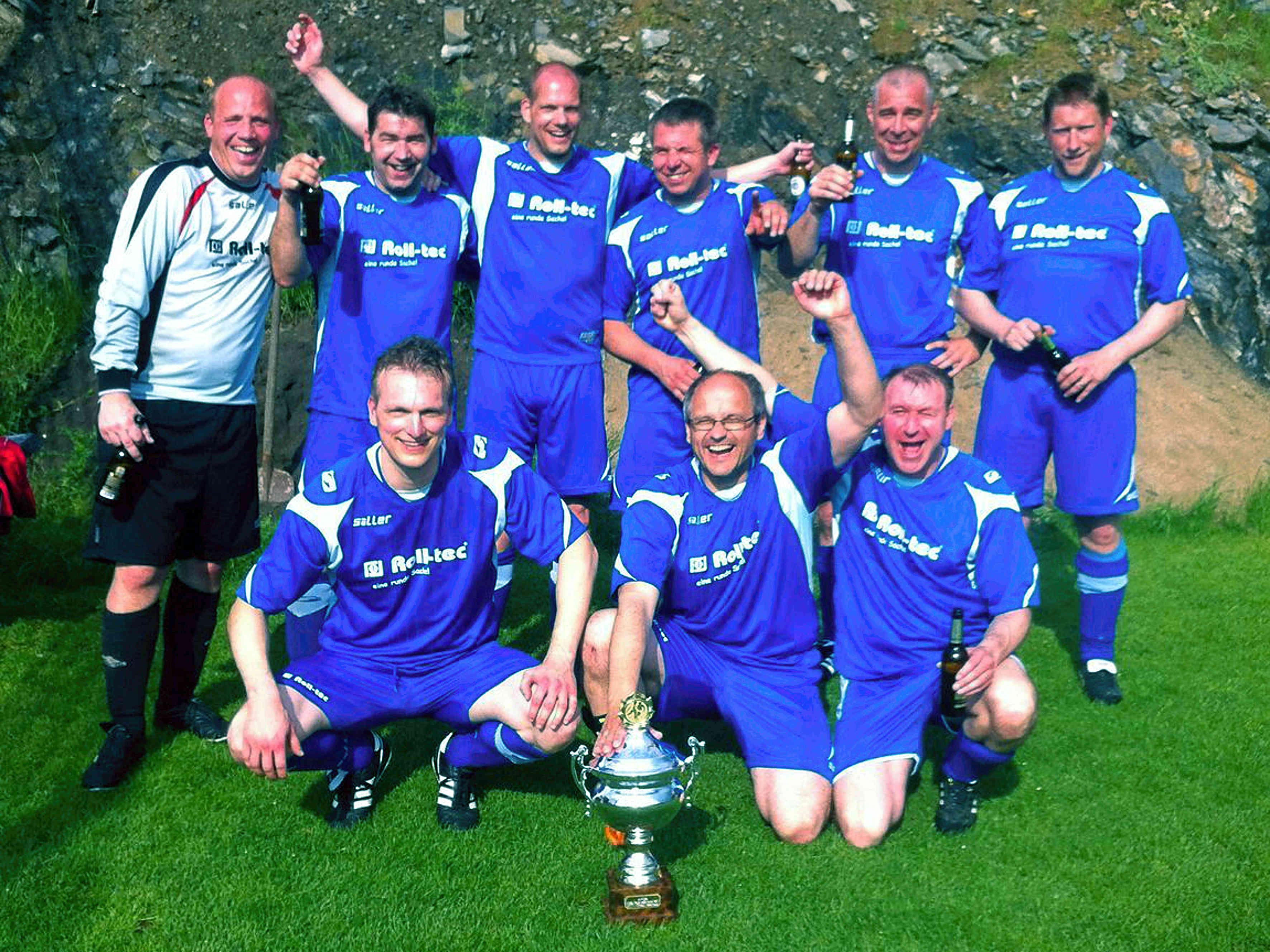FC Fleckenberg/Grafschaft Ü40 wird Kreispokalsieger