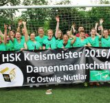 FC Ostwig/Nuttlar Damen machen die Meisterschaft kar